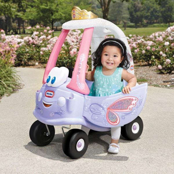 Little Tikes Fairy Cozy Coupe With Girl