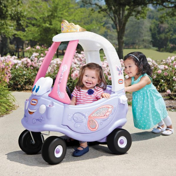 Little Tikes Fairy Cozy Coupe With Kids