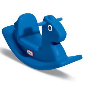 Rocking Toy Horse Primary Blue Left View