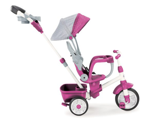 Baby Ride on Toys with PERFECT FIT 4 IN 1 TRIKE FEATURES