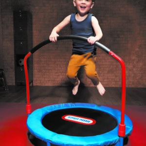 Trampoline toddler play equipment