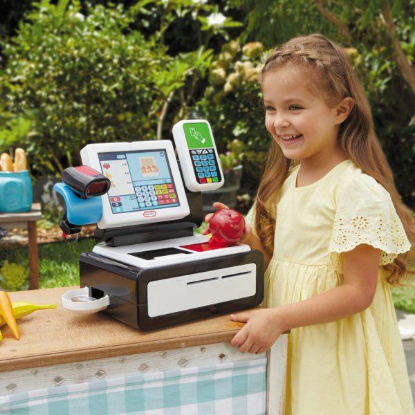 Kids realistic cash register toy