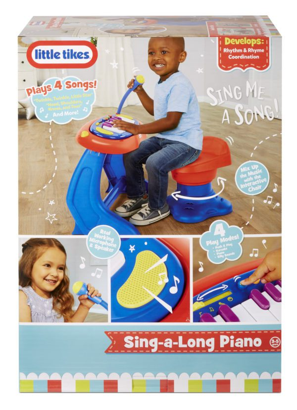 Interactive Sing-A-Long Piano toy for 3 years old