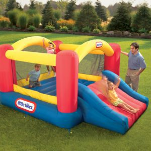 Jump, slide and bounce with Little Tikes Jump N Slide Bouncer