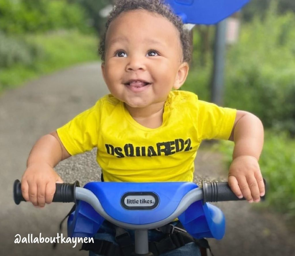 Pedal - Once their little arms have learned how to steer, the 4-in-1 trike takes on its third setting and gets their legs working. Keeping the handle attached, you can remove the footrest and encourage your child to try and pedal while you push.